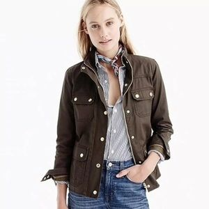 J. Crew Downtown Oil Field Utility Military Jacket